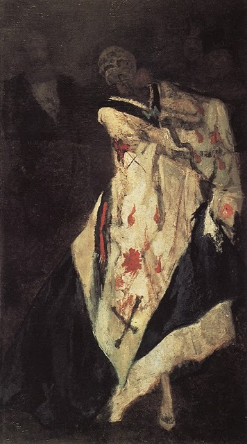 Felicien Rops Death at the Ball