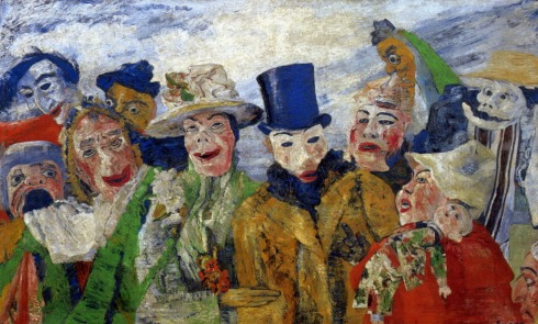James Ensor Intrigue