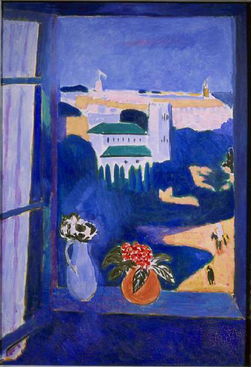 Henri Matisse Window at Tangiers