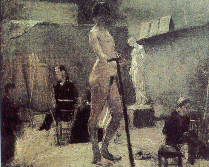 Matisse_the_study_of_moreau
