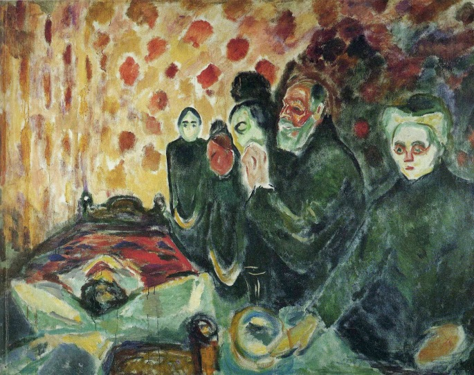 1915 By the Deathbed (Fever) oil on canvas 174 x 230 cm Munch Museum, Oslo.jpg