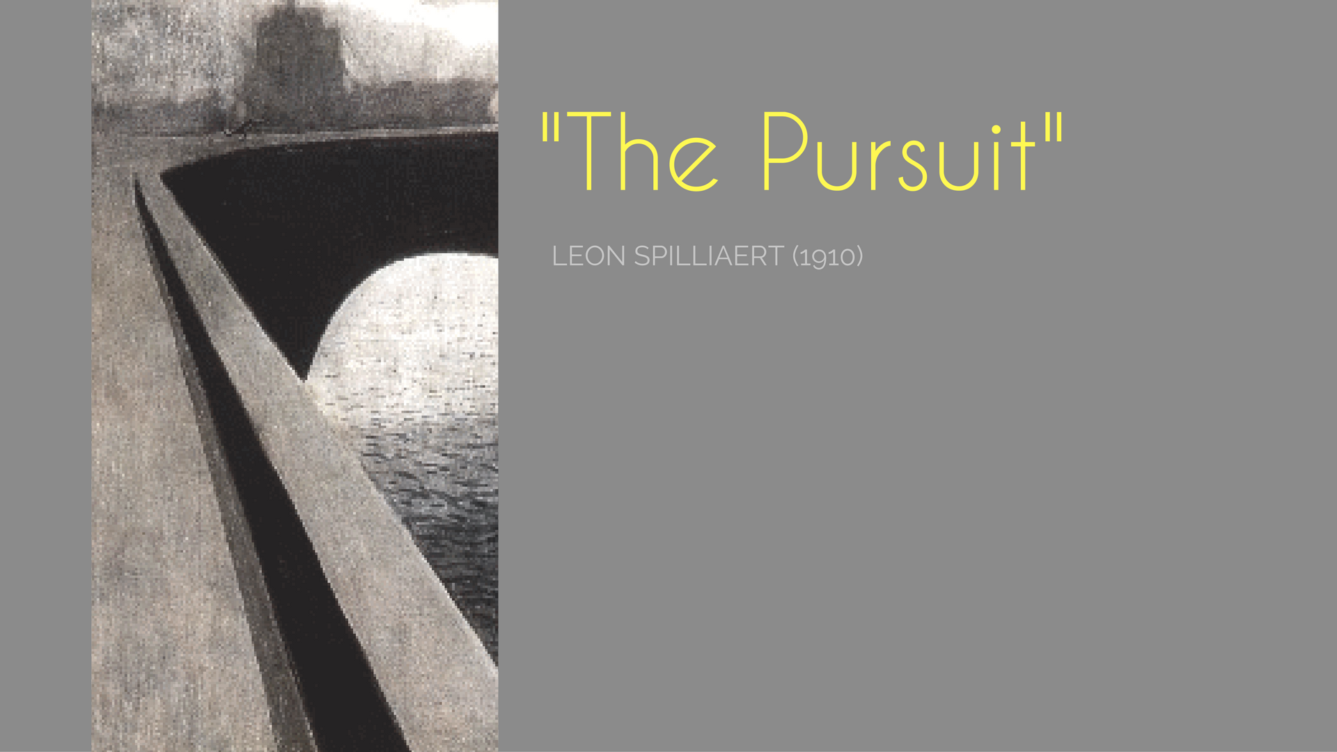 the pursuit Leon Spillaert Belgian symbolist painter of night and nocturnal painting