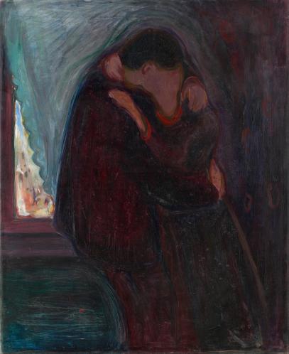 Edvard Munch- The Kiss