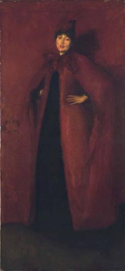 James Abbott McNeill Whistler, Harmony in Red_ Lamplight